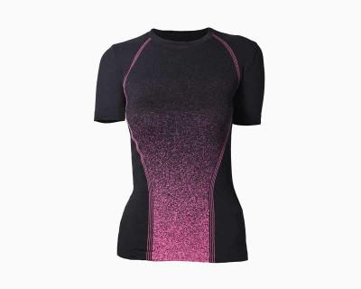 T-Shirt Sport à Manches Courtes pour Femme par Iron-Ic