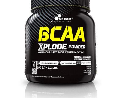 BCAA Xplode powder 500g  par Olimp Sport Nutrition (Plusieurs saveurs)