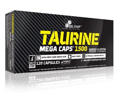Taurine Mega Caps®  par Olimp Sport Nutrition (Plusieurs saveurs)