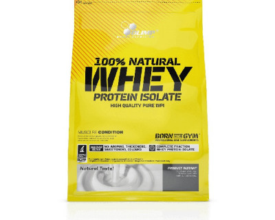100% Natural Whey Protein Isolate par Olimp Sport Nutrition