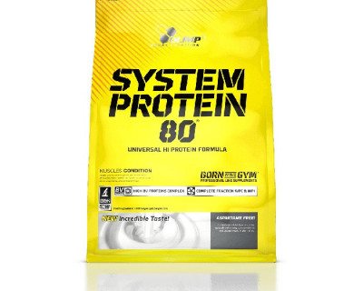System Protein 80 2,2 kg par Olimp Sport Nutrition (Plusieurs saveurs)