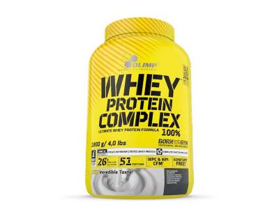 Whey Protein Complex 100 % 1,8 kg par Olimp Sport Nutrition (Plusieurs saveurs)