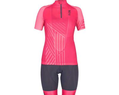 Ensemble maillot et bermuda Power de cyclisme féminins par Attiq (plusieurs coloris)