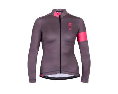 Maillot de cyclisme féminin respirant et thermoactif par Attiq (Plusieurs coloris)