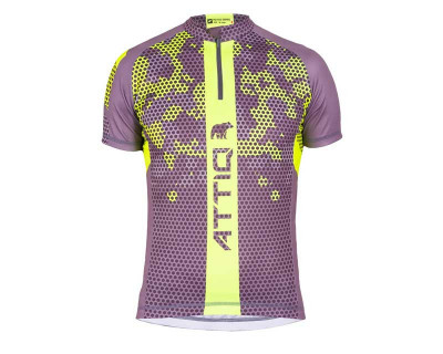 Maillot de cyclisme masculin en fibre coolmax par Attiq (Plusieurs coloris)