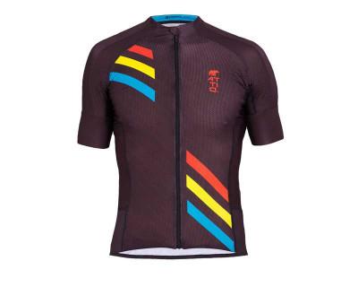 Maillot de cyclisme masculin en matériaux thermoactifs innovants par Attiq ( Plusieurs coloris)