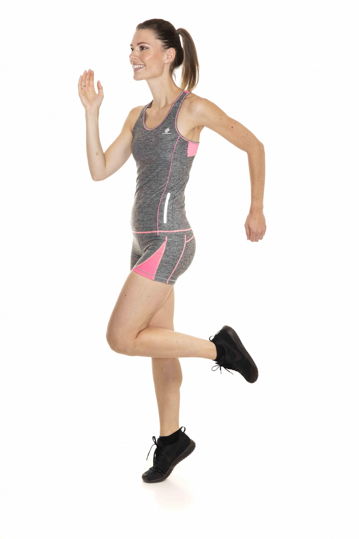 DEBARDEUR RUNNING BRASSIERE INTEGREE ROSY FEMME NORTHVALLEY