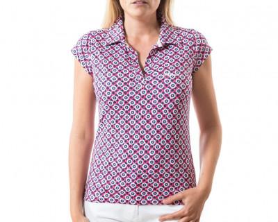 Polo de Golf pour Femme Bubblegum par Chiberta