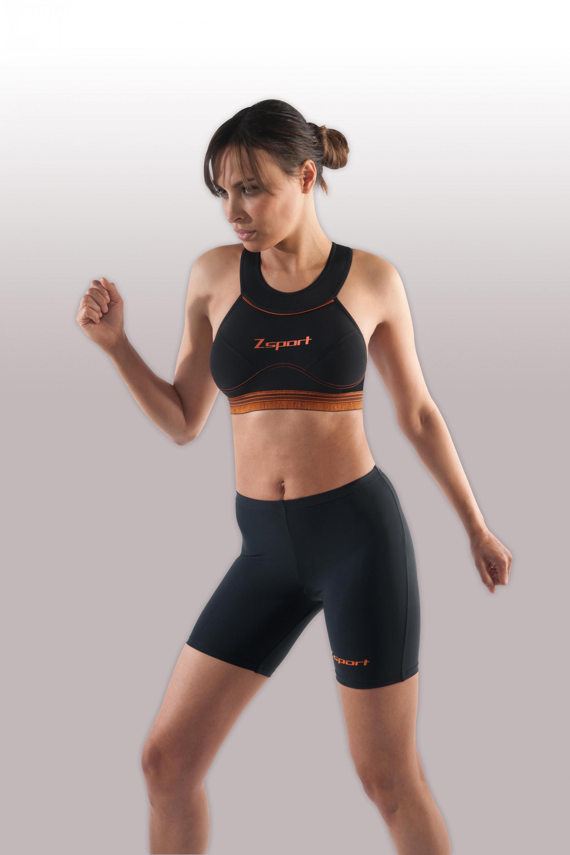 Ventes priv es brassiere action noir orange ventes priv es de fitness muscula - Vente privee fitness ...