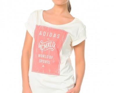 Adidas T-shirt World pour Femme