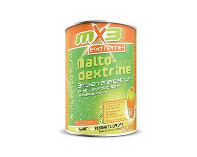 Pack de 3 boîtes MALTODEXTRINE goût orange pamplemousse