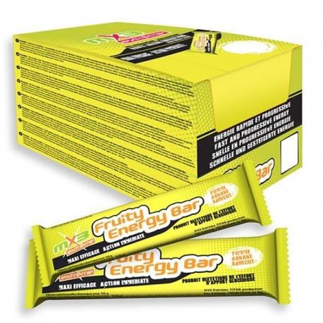 Pack de 40 barres FRUITY ENERGY goût pomme banane abricot