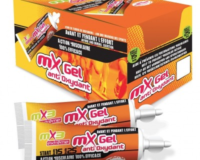 Pack de 40 gels ANTIOXYDANTS saveur orange mangue