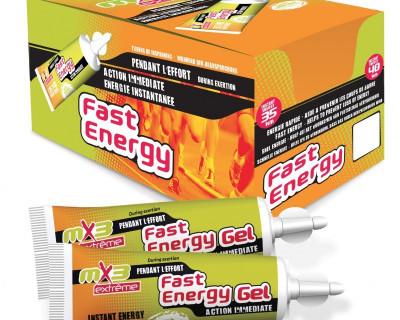 Pack de 40 gels FAST ENERGY saveur miel gelée royale