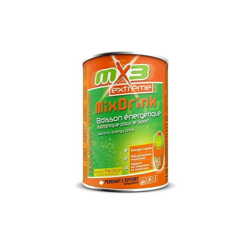 Pack de 3 boissons isotoniques MIXDRINK goût thé citron