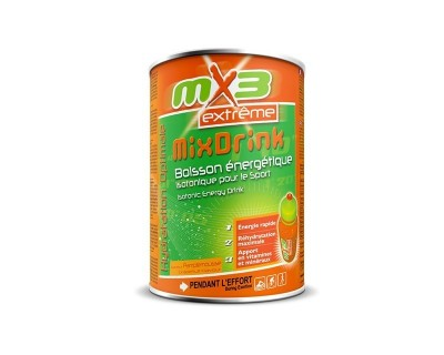 Pack de 3 boissons isotoniques MIXDRINK goût pamplemousse
