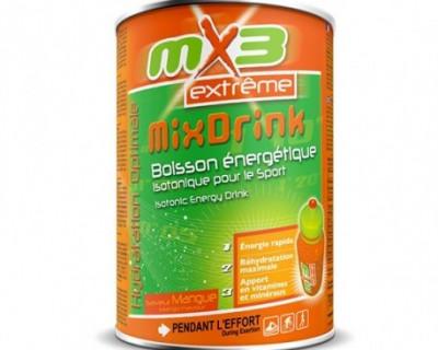 Pack de 3 boissons isotoniques MIXDRINK goût mangue