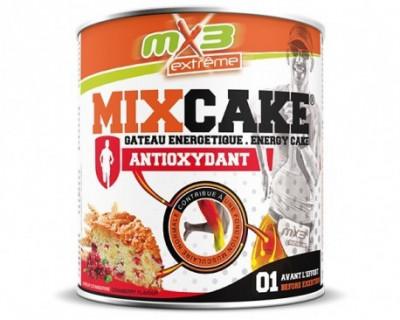 Pack de 3 gâteaux de l'effort MIXCAKE ANTIOXYDANT goût cranberries