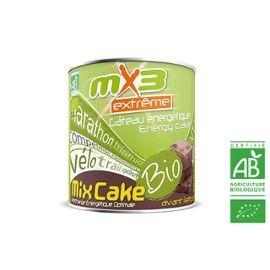 Pack de 3 gâteaux de l'effort MIXCAKE BIO goût cacao