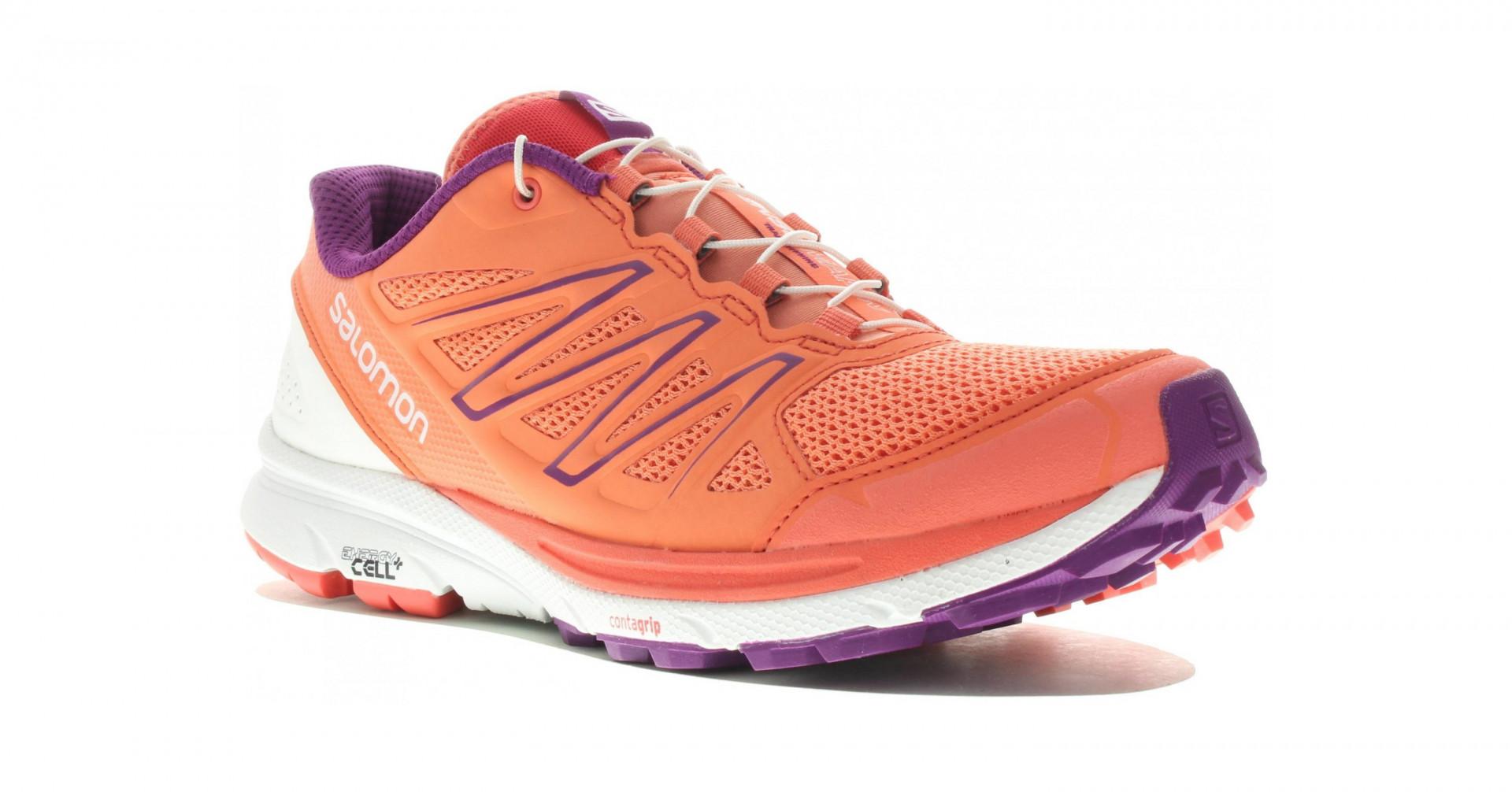 Chaussure de Trail running Salomon sense marin femme