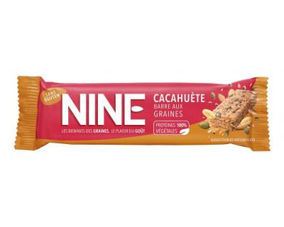 Nine barre énergétique40g graines de cacahuète et potiron(10 Barres)