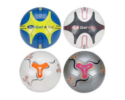 Ballon de football en cuir synthétique (Plusieurs coloris)